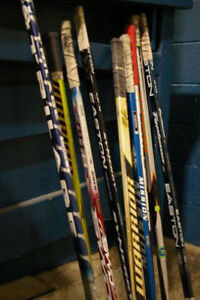 JUNIOR  SENIOR HOCKEY STICKS LEFT HAND INTERMEDIATE