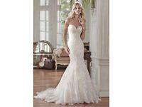 Maggie Sottero Rosamund lace fishtail BRAND NEW wedding dress