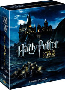 Harry Potter 8 films collection (DVD) Brand New - FREE DELIVERY