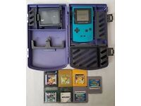 Gameboy Color plus Games Pokemon Yellow/Gold