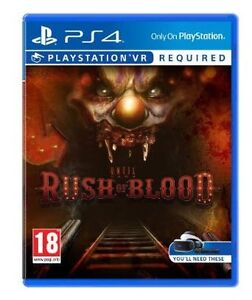 Playstation VR Until Dawn Rush Of Blood Denistone Ryde Area Preview