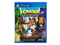 as new crash bandicoot n sane trillogy ( sold out everywhere ) ps4