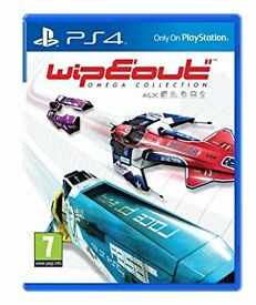 Wipeout Omega Collection PS4 BRAND NEW! SEALED! Bargain £20!