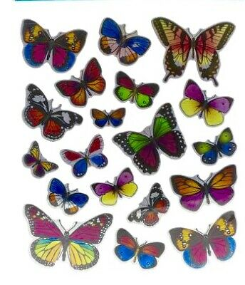 Foil Colorful Butterfly Stickers Party Favors Planner Scrapbook Papercraft Craft