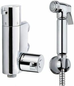 DOUCHE-KIT-BIDET-TOILET-THERMOSTATIC-VALVE-BRASS-CHROME-SHOWER-SHATAFF-MUSLIM