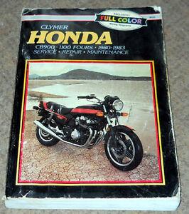 1980-83 Honda CB900-1100 Service Manual