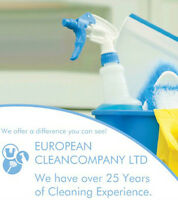 Carpet and upholstery cleaning - EUROPEAN CLEANCOMPANY LTD