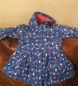 Baby Girls 9-12 months coat - mini club