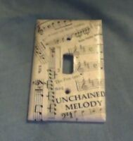 Handmade Musical Light Switch Covers/Plates