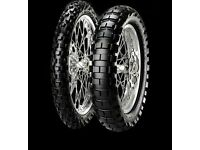 Pirelli Scorpion Rally Motorcycle Rear Tyre Enduro Off Road Desert 150 / 70 (17 inch )