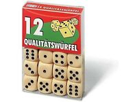 Ravensburger 27097 2 Dice (12-Piece) NEW & Sealed