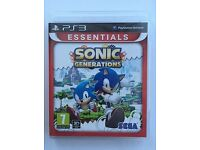 Playstation 3 (PS3) Game Sonic Generations