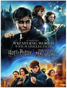 Harry Potter 9 Movies DVD Collection 9 -NEW - Free Delivery