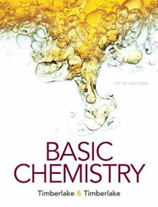 Basic Chemistry Textbook: Used for Pre-Health Sciences