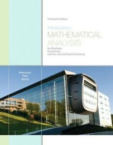 Introductory Mathematical Analysis 13th Edition/solution manual.