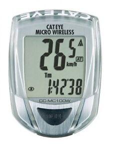 Wireless CatEye CC-MC100W Speedometer