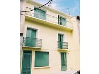 Long Let, Marseillan, Languedoc, South of France, Townhouse, sleeps 6+, £780 per Month.