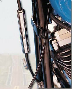 CHROME CLUTCH CABLE ADJUSTER COVER FOR HARLEY BIG TWIN & XL