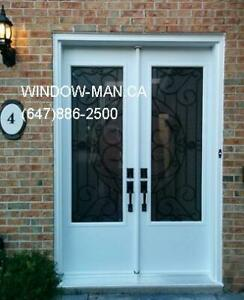 8foot Door Front Double 96inches Iron Wrought  Energy saving