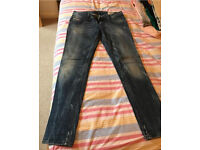 Diesel Jeans, waist size 30, excellent condition