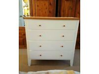 Child's chest of drawers, in need of repair