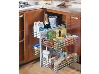 STOCK CLEARANCE - Easy Access Corner Storage Solution (1000mm Corner Unit)