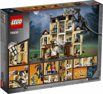 LEGO Jurassic World Indoraptor Rampage at Lockwood Estate 2018 (75930)