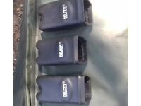 Delkim Hardcases Set Of 3 Carp Fishing
