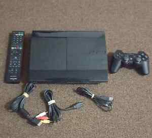 Sony PS3 slim 250 GB with controller and games