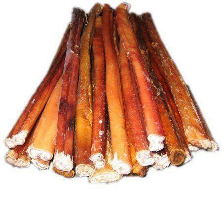 bully sticks 12 thick ebay. Black Bedroom Furniture Sets. Home Design Ideas