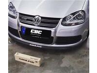 Front Rear Bumper Splitter spoiler Golf Polo Lupo Beetle R32 GTI TDI Seat Leon Ibiza Cupra Turbo V6