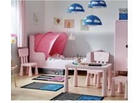 IKEA pink canopy tent