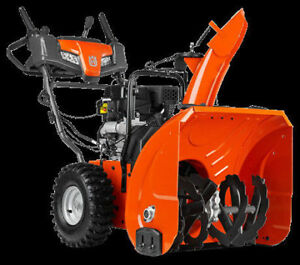 Husqvarna & Columbia Snowblowers, save $50 off listed price