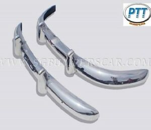 Volvo PV444 Bumper 1947-1958 in Stainless Steel