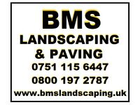 BMS Landscaping & Paving Driveway patio path turf fence groundwork bricklaying watford bushey