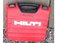 HILTI CORDLESS DRILL 12V FOR SALE