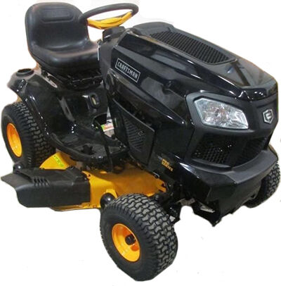 how to start a john deere riding lawn mower d110