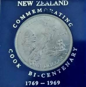 Coin Commemorating Cook Bi-Centenary New Zealand Springfield Lakes Ipswich City Preview