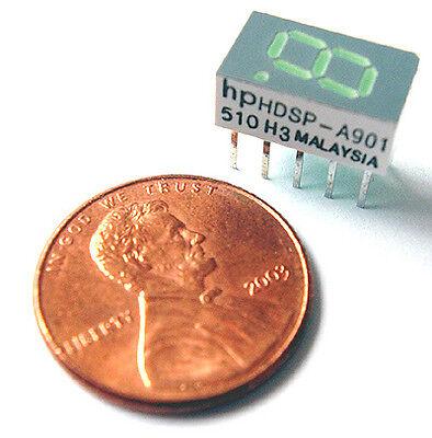 7 Segment Led Display Green 7.6mm Com Anode Hdsp-a901