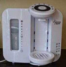 Tommee tippee prep machine as new