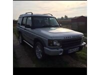 2002 52 LAND ROVER DISCOVERY 2 2.5 TD5 ES 5D AUTO 136 BHP 127K GENUINE MILES TOP SPEC