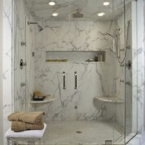 Shower Walls ,Shower Bases , Vanity Tops and More Stratford Kitchener Area image 4