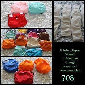 G baby Hybrid Cloth Diapers