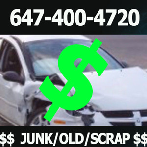 BUYING SCRAP/UNWANTED/JUNK CARS - CASH ON SPOT!