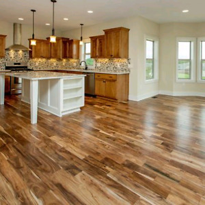 Call The Flooring Experts! Now also doing wood plank walls!
