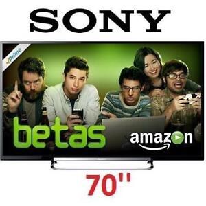 REFURB* SONY 70'' 1080p 3D LED HDTV KDL70R550A 139134879 WiFi 120Hz 2013 MODEL