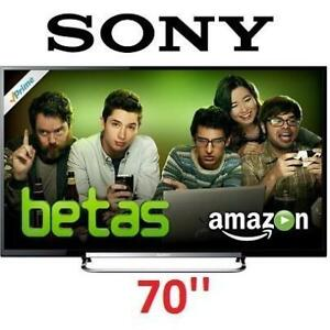 REFURB* SONY 70'' 1080p 3D LED HDTV KDL70R550A 131398665 WiFi 120Hz 2013 MODEL