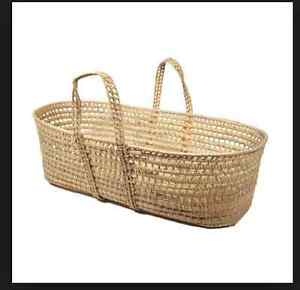 Moses Basket with Jolly Jumper Stand. Peterborough Peterborough Area image 1