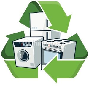 Free Removal for any Washer, Dryer, Stove, or Fridge