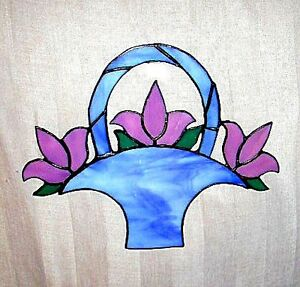 Stained Glass – Flower Basket Cambridge Kitchener Area image 1